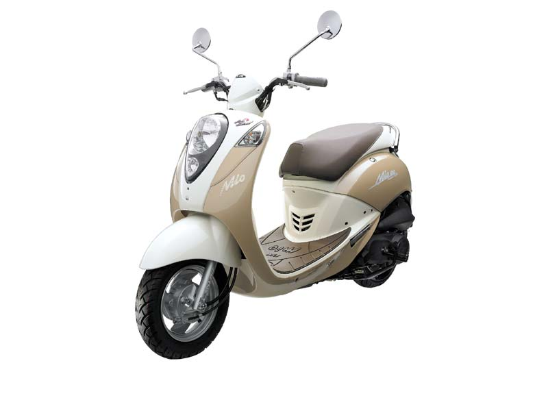 Sym scooter 100cc for rent Cyprus
