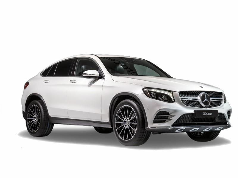 Mercedes-Benz GLC Coupé zu vermieten in Zypern