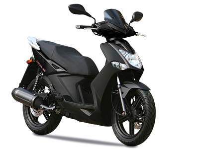 motorbikerental cyprus Kymco agility 125cc