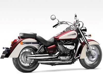 motorbike rental Cyprus Honda Shadow 750cc