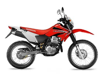 motorbike rental cyprus honda xr 250cc